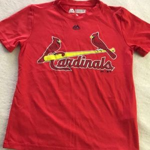 Cardinals jersey youth small